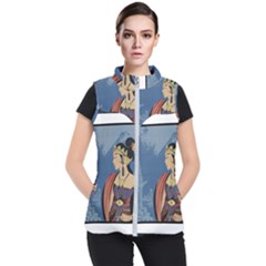 Java Indonesia Girl Headpiece Women s Puffer Vest