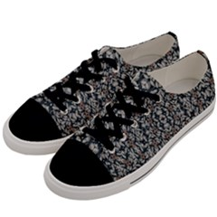 Ornate Pattern Mosaic Men s Low Top Canvas Sneakers by dflcprints