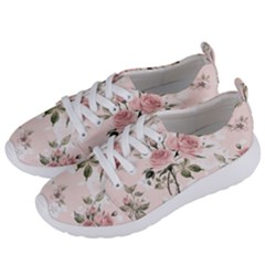 Pink Shabby Chic Floral Women s Lightweight Sports Shoes by 8fugoso