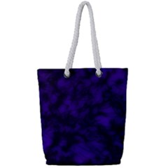 Midnight Full Print Rope Handle Tote (small) by vwdigitalpainting