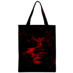 Anxiety Zipper Classic Tote Bag by vwdigitalpainting