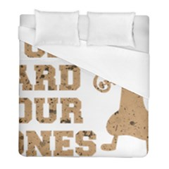 Work Hard Your Bones Duvet Cover (full/ Double Size) by Melcu