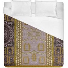 Gothic In Modern Stars And Pearls Duvet Cover (king Size) by pepitasart