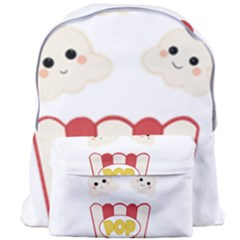 Cute Kawaii Popcorn Giant Full Print Backpack