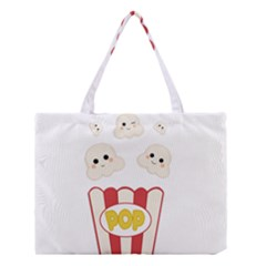 Cute Kawaii Popcorn Medium Tote Bag