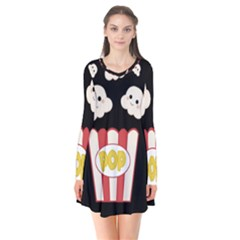 Cute Kawaii Popcorn Flare Dress