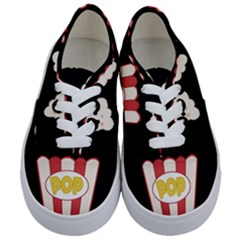 Cute Kawaii Popcorn Kids  Classic Low Top Sneakers