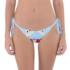 Cute Kawaii Popcorn Reversible Bikini Bottom by Valentinaart