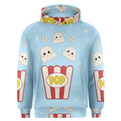 Cute Kawaii Popcorn Men s Overhead Hoodie by Valentinaart