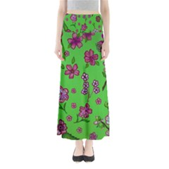 Visions Of Pink Full Length Maxi Skirt