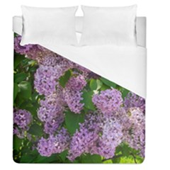 Lilacs 2 Duvet Cover (queen Size) by dawnsiegler