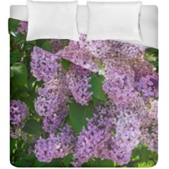 Lilacs 2 Duvet Cover Double Side (king Size) by dawnsiegler