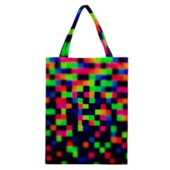 Squares Classic Tote Bag by dawnsiegler