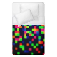 Squares Duvet Cover (single Size) by dawnsiegler