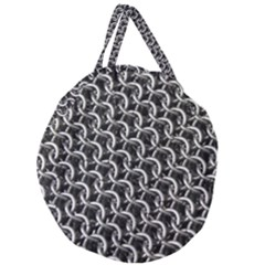 Igp3346 Chainmail Giant Round Zipper Tote by PhotoThisxyz