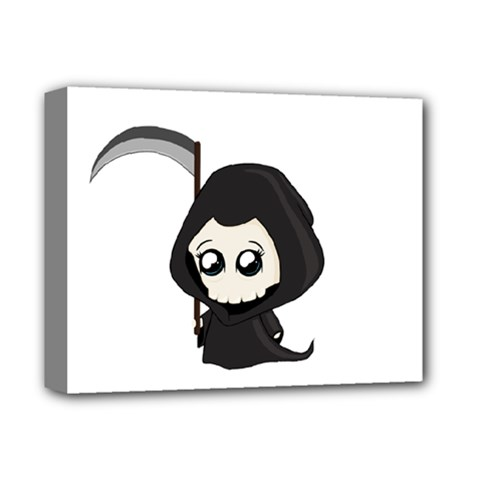 Cute Grim Reaper Deluxe Canvas 14  X 11  by Valentinaart