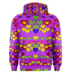 I Love This Lovely Hearty One Men s Pullover Hoodie by pepitasart