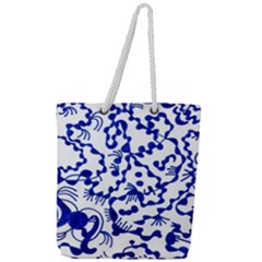 Direct Travel Full Print Rope Handle Tote (large) by MRTACPANS