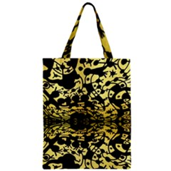 Dna Diluted Zipper Classic Tote Bag by MRTACPANS