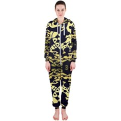 Dna Diluted Hooded Jumpsuit (ladies)  by MRTACPANS