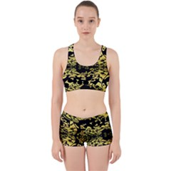 Dna Diluted Work It Out Sports Bra Set by MRTACPANS