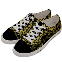 Dna Diluted Women s Low Top Canvas Sneakers by MRTACPANS