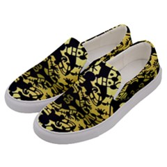 Dna Diluted Men s Canvas Slip Ons by MRTACPANS