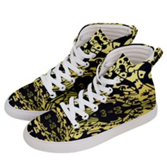 Dna Diluted Men s Hi-top Skate Sneakers by MRTACPANS