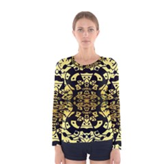 Dna Round Off Women s Long Sleeve Tee by MRTACPANS
