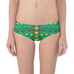 Love Is In All Of Us To Give And Show Classic Bikini Bottoms by pepitasart