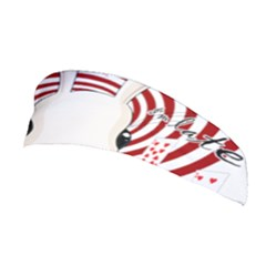 White Rabbit In Wonderland Stretchable Headband