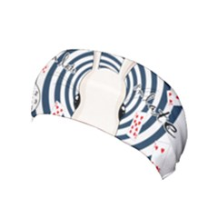 White Rabbit In Wonderland Yoga Headband
