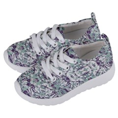 Modern Collage Pattern Mosaic Kids  Lightweight Sports Shoes by dflcprints