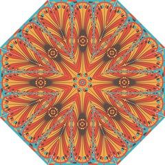 Geometric Extravaganza Pattern Folding Umbrellas by linceazul
