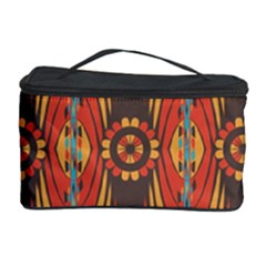 Geometric Extravaganza Pattern Cosmetic Storage Case by linceazul