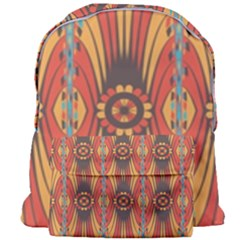 Geometric Extravaganza Pattern Giant Full Print Backpack by linceazul
