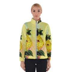 Background Flowers Yellow Bright Winterwear