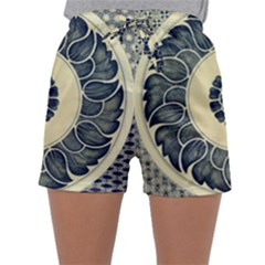 Background Vintage Japanese Sleepwear Shorts