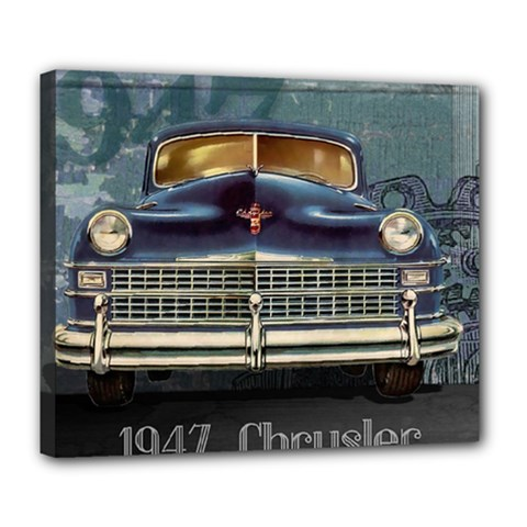 Vintage Car Automobile Deluxe Canvas 24  X 20   by Nexatart