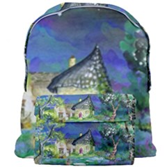 Background Fairy Tale Watercolor Giant Full Print Backpack