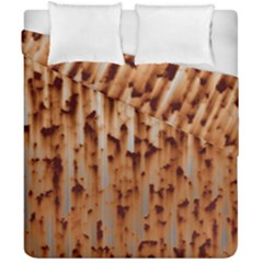 Stainless Rusty Metal Iron Old Duvet Cover Double Side (california King Size) by Nexatart