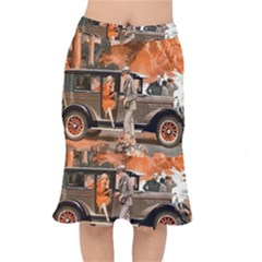 Car Automobile Transport Passenger Mermaid Skirt