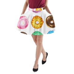 Donuts A Line Pocket Skirt by KuriSweets
