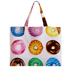 Donuts Medium Tote Bag by KuriSweets