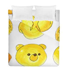 Bread Duvet Cover Double Side (full/ Double Size) by KuriSweets