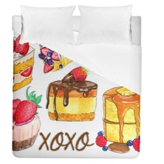 Xoxo Duvet Cover (queen Size) by KuriSweets