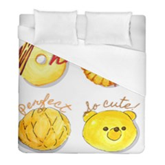 Cute Bread Duvet Cover (full/ Double Size) by KuriSweets