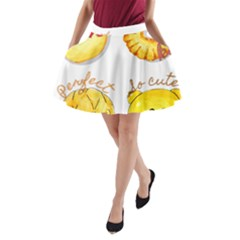 Cute Bread A Line Pocket Skirt by KuriSweets