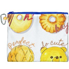 Cute Bread Canvas Cosmetic Bag (xxxl) by KuriSweets