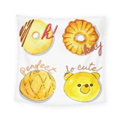 Bread Stickers Square Tapestry (small) by KuriSweets